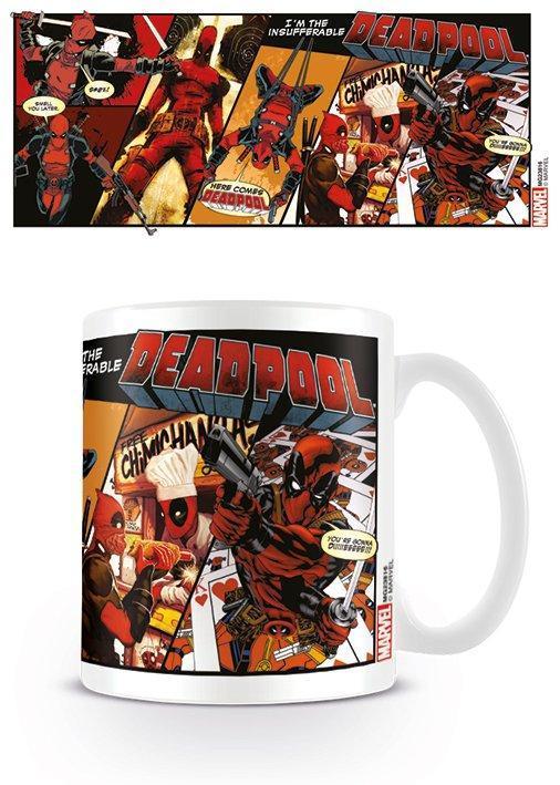 Deadpool mug 300 ml comic insufferable