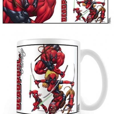 Deadpool mug 300 ml family