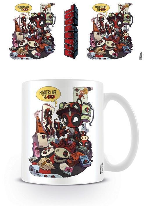 Deadpool mug 300 ml royalties