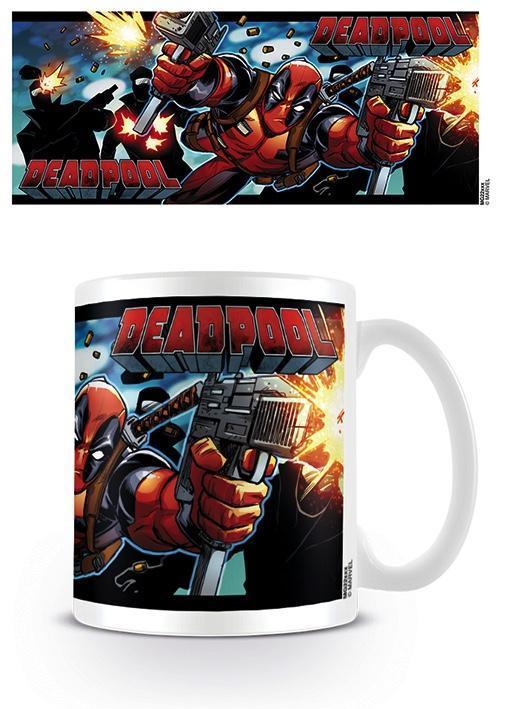 Deadpool mug 300 ml shooting with style