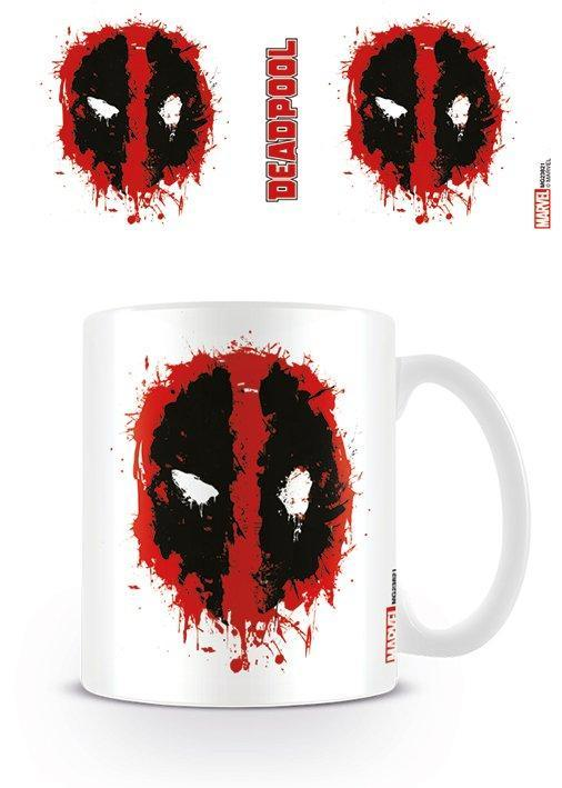 Deadpool mug 300 ml splat