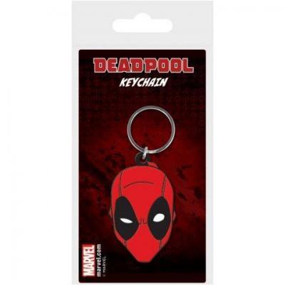 Deadpool porte cles caoutchouc face 1