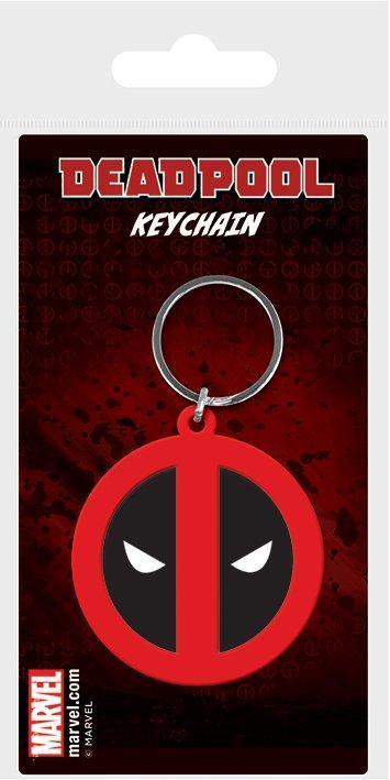 Deadpool porte cles caoutchouc symbol