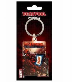 Deadpool porte cles metal bang
