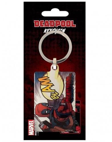 Deadpool porte cles metal blam