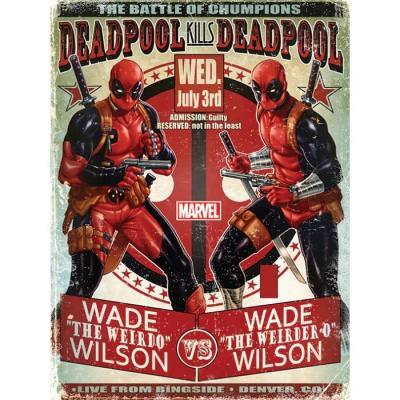 Deadpool poster 61x91 wade vs wade 1