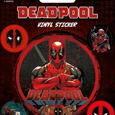 Deadpool vinyl stickers deadpool