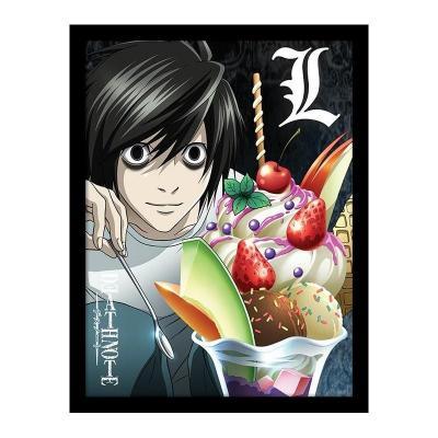 Death note l ice cream impression encadree 30x40cm