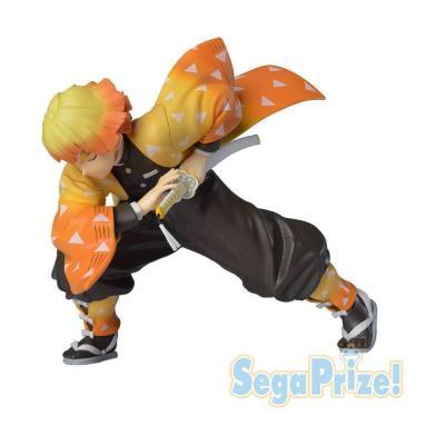 Demon slayer agatsuma zenitsu figurine sega prize 14cm