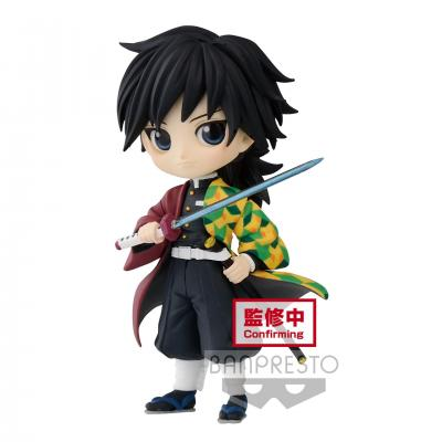 Demon slayer giyu tomioka figurine q posket petit 7cm