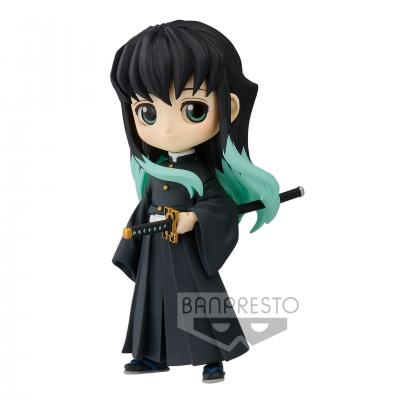Demon slayer muichiro tokito figurine q posket petit 7cm