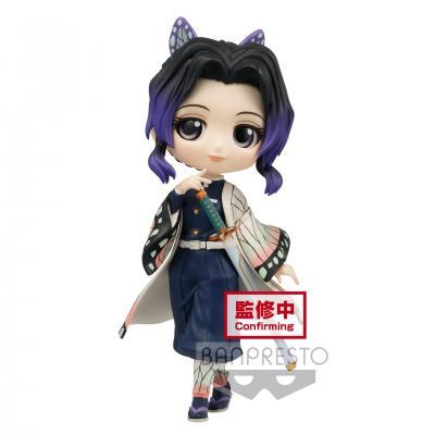Demon slayer shinobu kocho figurine q posket ver a 14cm