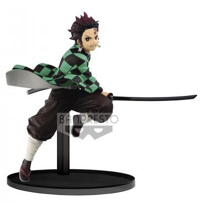 Demon slayer tanjiro kamado figurine vibration stars 15cm