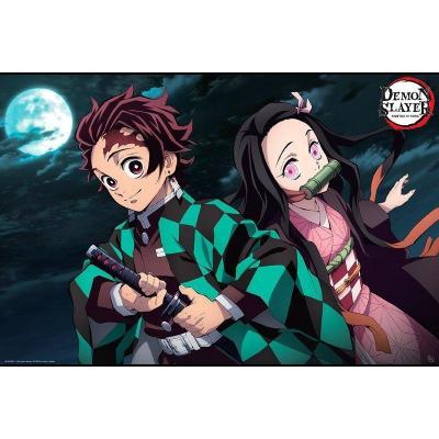 Demon slayer tanjiro nezuko poster 91x61cm