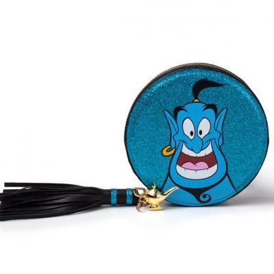 Disney aladdin genie glitter coin purse