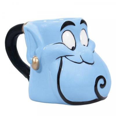 Disney aladdin mug 3d 500ml genie