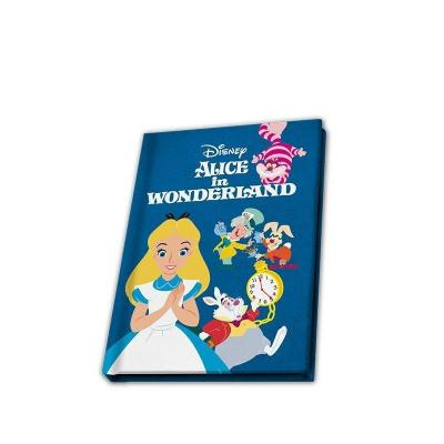 Disney alice au pays des merveilles notebook a5