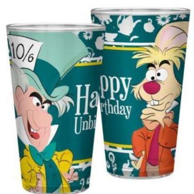 Disney alice happy unbirthday verre xxl 400ml
