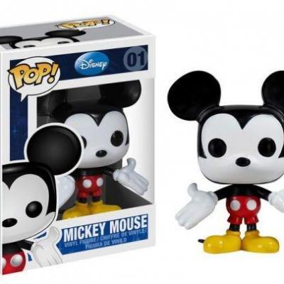 Disney bobble head pop n 001 mickey mouse