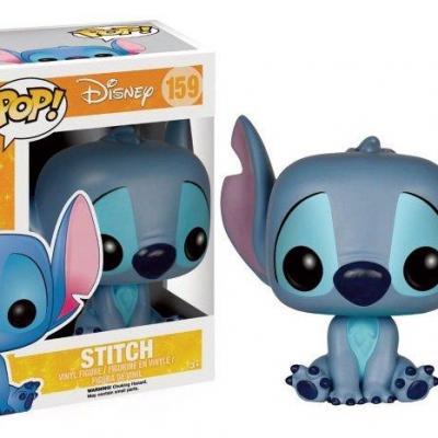 Disney bobble head pop n 159 stitch assis