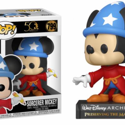 Disney bobble head pop n 799 archives sorcerer mickey