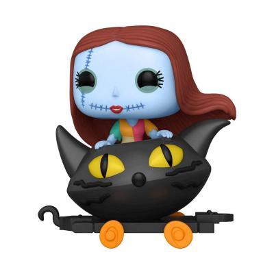 Disney bobble head pop n xxx sally in cat cart pop train