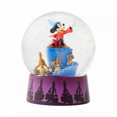 Disney boule a neige fantasia 12x12x12cm