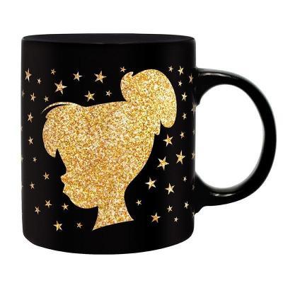 Disney clochette paillette mug 320ml