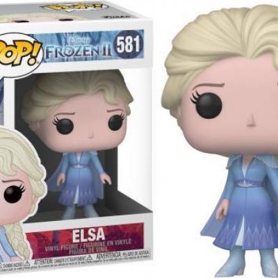 Disney frozen 2 bobble head pop n 581 elsa