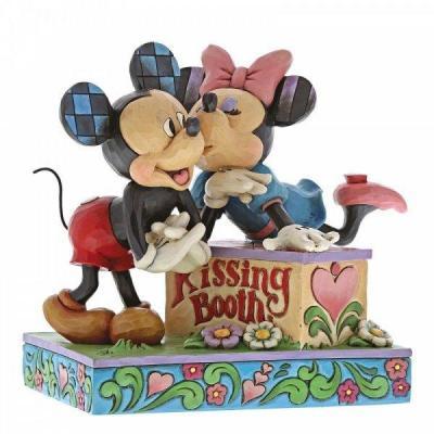 Disney kissing booth statuette enesco 15x16 5x10cm