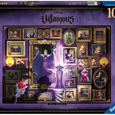 Disney la mechante reine sorciere puzzle villainous 1000p