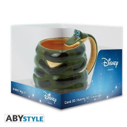Disney le livre de la jungle mug 3d 300ml kaa 2