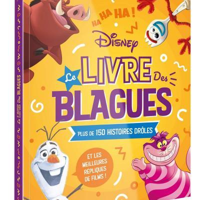 Disney le livre des blagues