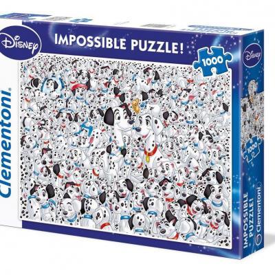 Disney les 101 dalmatiens puzzle 1000p