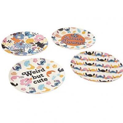 Disney lilo stitch aloha hawaii set d assiettes 25cm