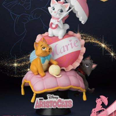Disney marie diorama d stage 15cm
