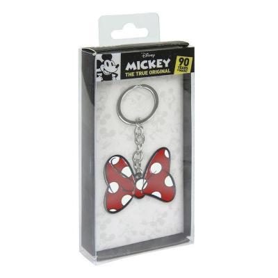 Disney metal keychain minnie tie