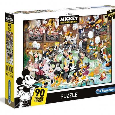 Disney mickey 90th celebration puzzle 1000p