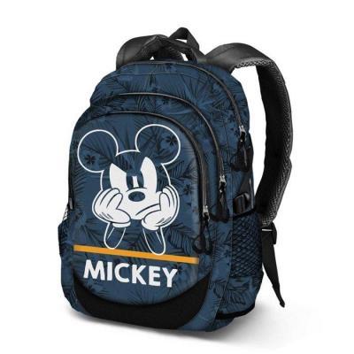 Disney mickey blue sac a dos 30x44x17cm