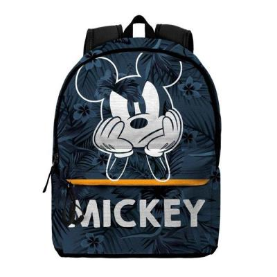 Disney mickey blue sac a dos 37x45x15cm