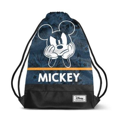 Disney mickey blue sac de sport 35x48x1cm