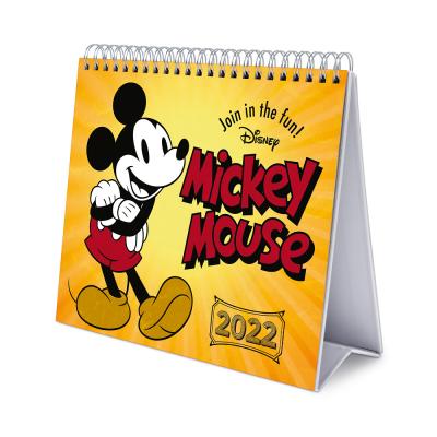 Disney mickey calendrier de bureau 2022 17x20cm
