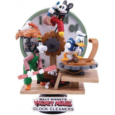 Disney mickey cie laveurs d horloge d stage 15cm