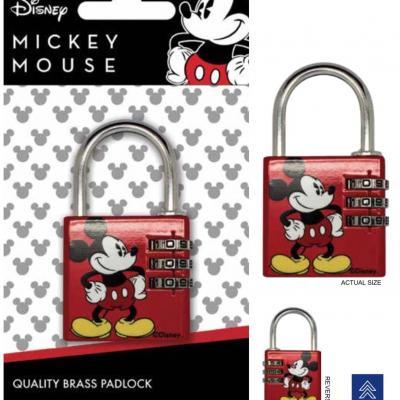 Disney mickey mouse cadenas avec code
