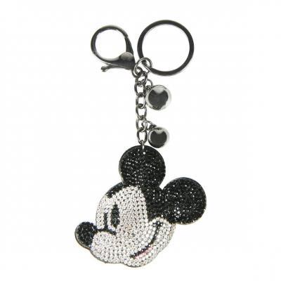 Disney mickey strass porte cles 3d