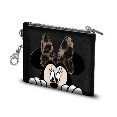 Disney minnie fur porte cartes 10 5x8 5x0 5cm