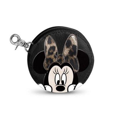 Disney minnie fur portemonnaie 9 5x1 5cm