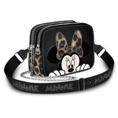 Disney minnie fur sac 20x14x8 5cm