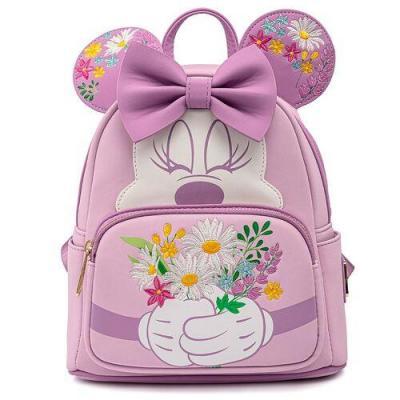 Disney minnie holding flowers sac a dos loungefly 23x26 5x11
