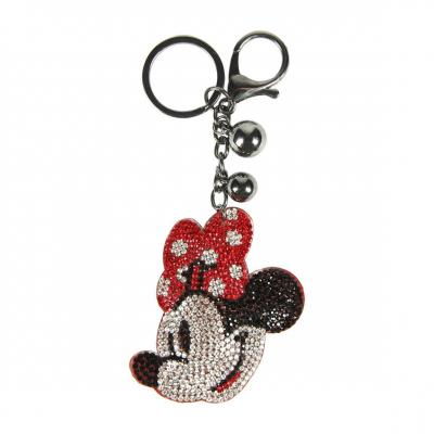 Disney minnie strass porte cles 3d